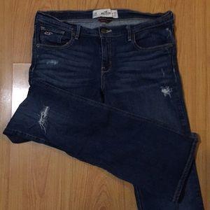 Hollister boot cut jean